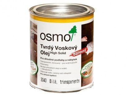 Osmo 3040 tvrdý voskový olej bílý 0,375 l