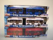 Alltoys Autobus kloubový 3ass Mac Toys 1:48