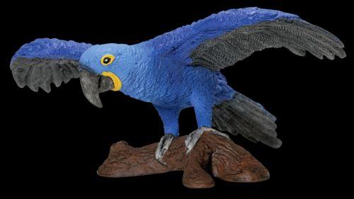 SCHLEICH Zvířátko papoušek modrý na větvi cena od 130 Kč