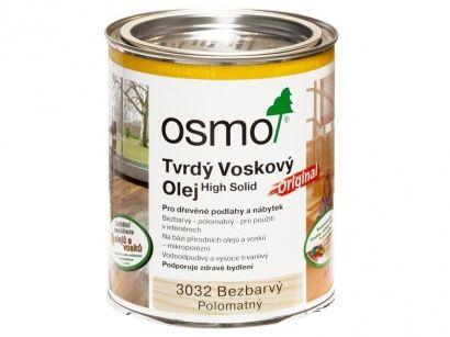 Osmo 3032 Original tvrdý voskový olej polomat 0,75 l