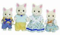 Sylvanian Families Rodina hedvábných koček cena od 429 Kč