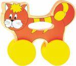 WOODY Kočička na kolečkách s držadlem cena od 204 Kč