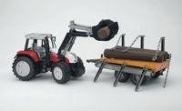 Bruder Traktor Steyr přeprava dřeva 2088 cena od 796 Kč