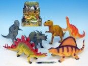 Mikro Trading Dinosaurus plast 33-41 cm cena od 134 Kč