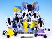 Mikro Trading Zebra ZOU plyš 23 cm cena od 69 Kč