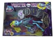 Mattel Monster High příšerka 13 přání LAGOONA BLUE cena od 0 Kč