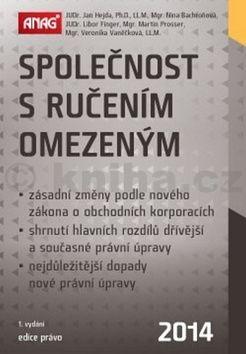 Nina Bachroňová: Společnost s ručením omezeným 2014 cena od 334 Kč