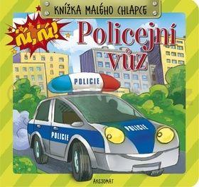 Knížka malého chlapce Policejní vozidlo cena od 31 Kč