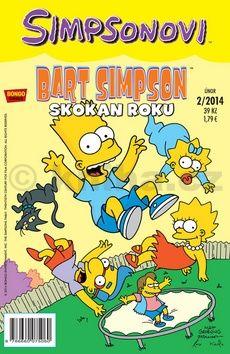 Matt Groening: Simpsonovi - Bart Simpson 2/14 - Skokan roku cena od 25 Kč
