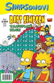 Matt Groening: Simpsonovi - Bart Simpson 3/2014 - Tajuplný kluk cena od 26 Kč