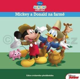 Walt Disney: Mickeyho klubík - Mickey a Donald na farmě cena od 138 Kč