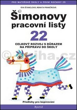 Renata Frančíková, Eva Štanclová: Šimonovy pracovní listy 22 cena od 113 Kč