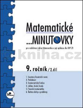 Miroslav Hricz: Matematické minutovky 9. ročník / 2. díl cena od 29 Kč