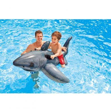 INTEX Velký bílý žralok do vody cena od 289 Kč