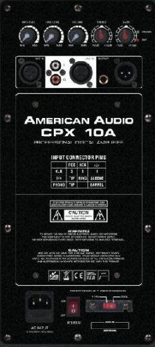 AMERICAN AUDIO CPX 10A