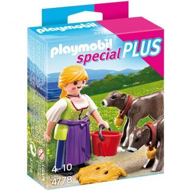 PLAYMOBIL Farmářka s telátkem 4778 cena od 67 Kč