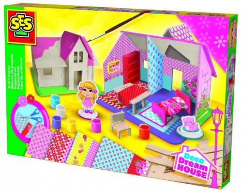 SES Výroba domku pro panenky cena od 457 Kč