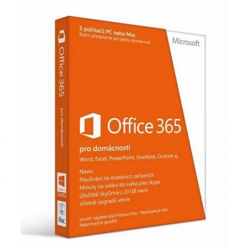 Software Microsoft Office 365 pro domácnosti