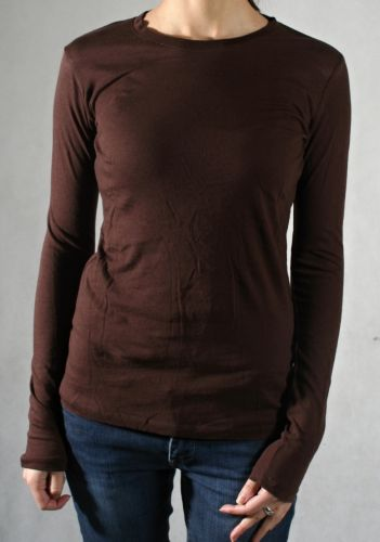 ADIO Adio brown long sleeve triko
