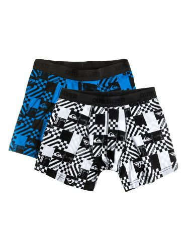 QUIKSILVER IMPOSTER PACK PRINT YOUTH X3 trenky