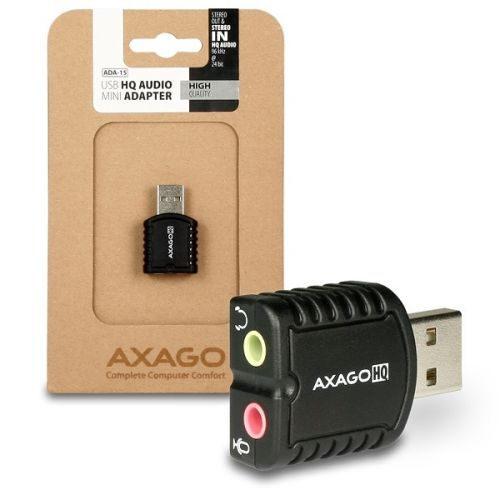 AXAGO stereo HQ audio MINI ADA-15