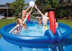 INTEX Set volejbal a basketbal pro bazény 4,57 - 5,49 m cena od 239 Kč