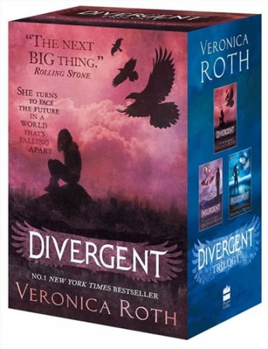 XXL obrazek Roth Veronica: Divergent Series Boxed Set