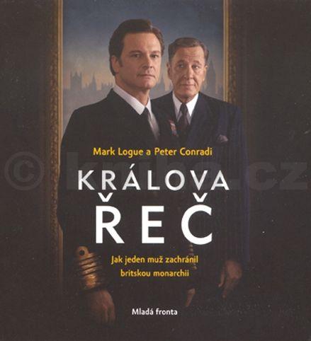 Peter Conradi, Mark Logue: Králova řeč - CD (čte Miroslav Táborský) cena od 223 Kč