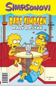 Matt Groening: Simpsonovi - Bart Simpson 4/2014 - Malý rošťák cena od 25 Kč