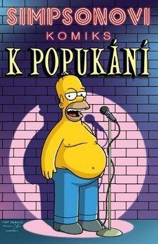 Matt Groening: Simpsonovi Komiks k popukání cena od 196 Kč