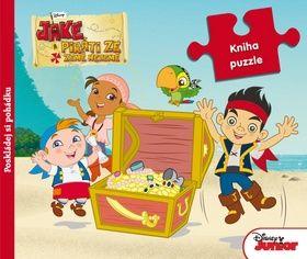 Walt Disney: Pirat Jake - Kniha puzzle cena od 189 Kč