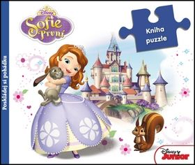 Walt Disney: Sofie První - Kniha puzzle cena od 184 Kč