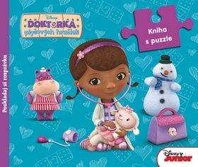 Doktorka plyšových hračiek Kniha s puzzle cena od 234 Kč