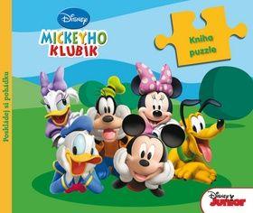 Mickeyho klub Kniha s puzzle cena od 243 Kč