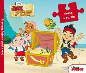 Jake a piráti z krajiny Nekrajiny Kniha s puzzle cena od 196 Kč