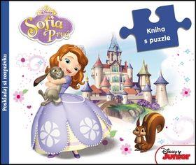 Sofia Prvá Kniha s puzzle cena od 234 Kč