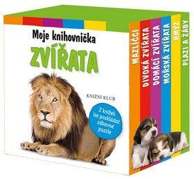Moje knihovnička - Zvířata cena od 119 Kč