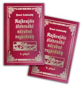 Pavol Dobšinský: Komplet 2 ks Najkrajšie slovenské národné rozprávky cena od 374 Kč