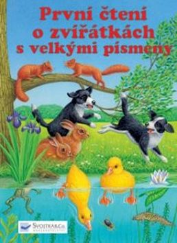 První čtení o zvířátkách s velkými písmeny cena od 80 Kč