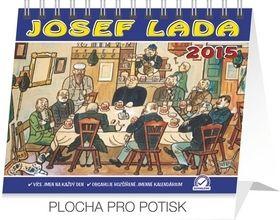 Josef Lada V hospodě Praktik, kalendář 2015, 16,5 x 13 cm cena od 15 Kč