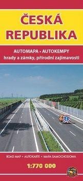 Automapa ČR 1:770 000 cena od 49 Kč