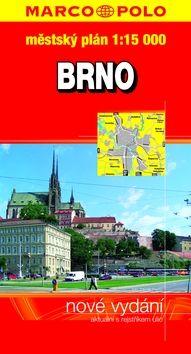 Brno městský plán 1:15000 cena od 42 Kč