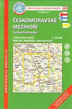KČT 49 Českomoravské mezihoří Českotřebovsko cena od 85 Kč