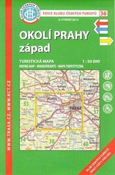 KČT 36 Okolí Prahy západ cena od 85 Kč