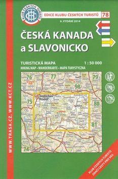 KČT 78 Česká Kanada a Slavonicko cena od 85 Kč