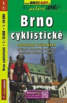 Brno cyklistické 1:18 000, 1: 40 000 cena od 104 Kč