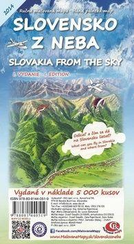 Slovensko z neba Slovakia from the sky cena od 64 Kč