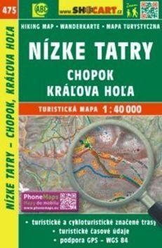 Nízke Tatry, Chopok, Kráżova Hoża 1:40 000 cena od 86 Kč