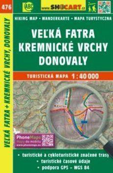 Veżká Fatra, Kremnické vrchy, Donovaly 1:40 000 cena od 86 Kč
