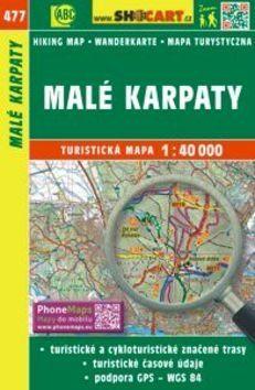Malé Karpaty 1:40 000 cena od 85 Kč